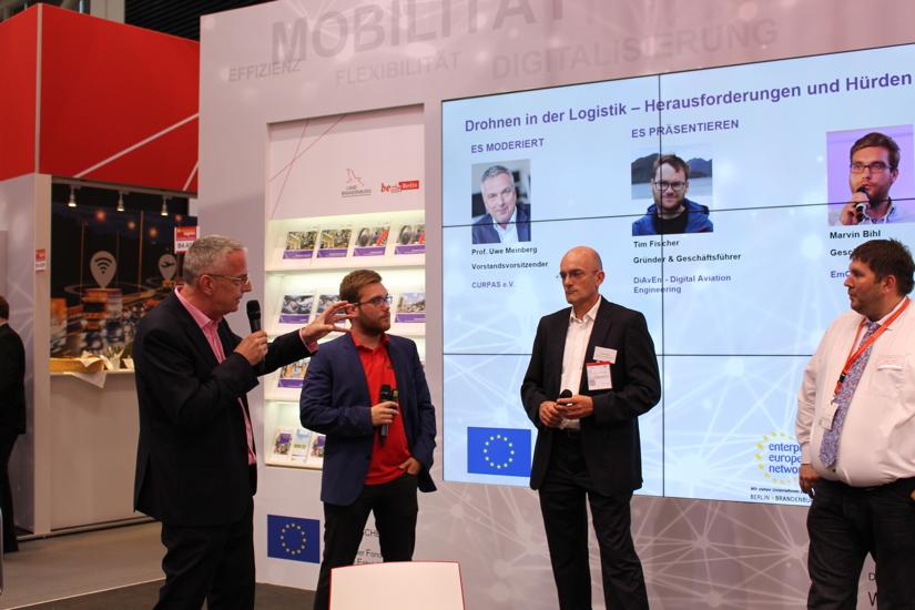 Drohnen in der Logistik? Wirtschaftsförderung Brandenburg sieht großes Potenzial