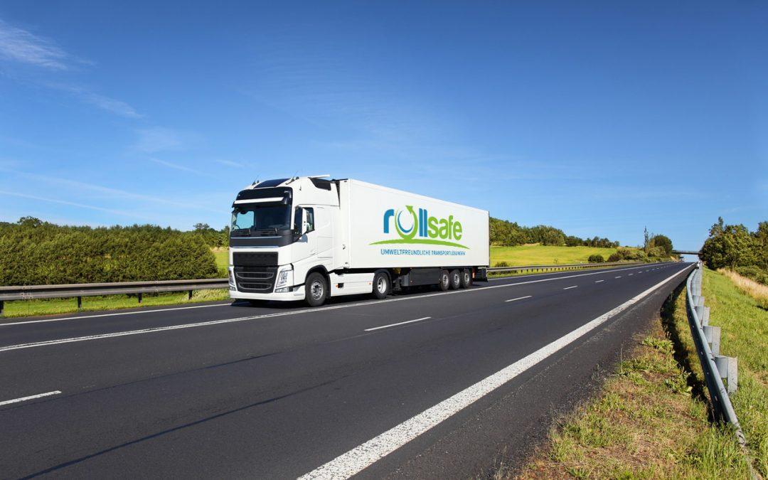 Roll-Safe setzt auf umweltfreundliche LKW und nachhaltige Transportsicherung
