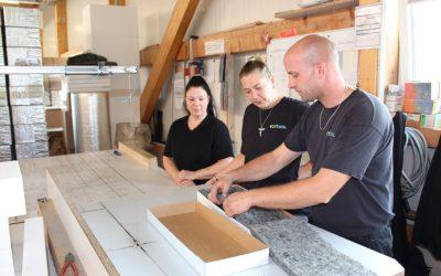 Produktion von Kühlverpackungen: Zu Gast bei Ecocool