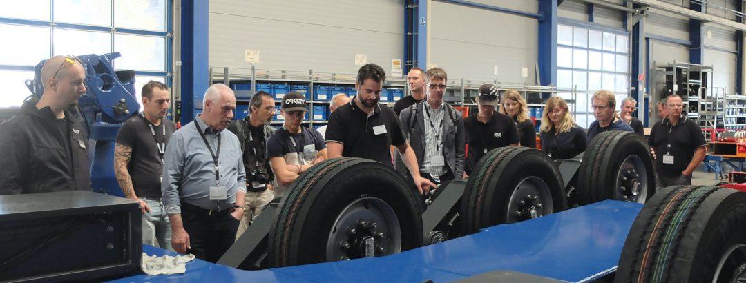 Europäische Schwerlasttransport-Experten unter sich