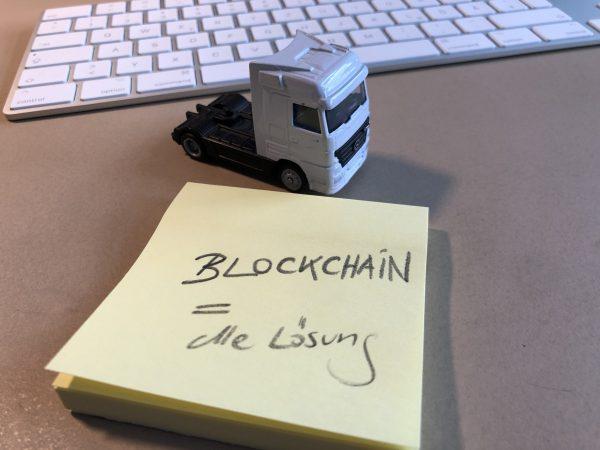 Blockchain in der Logistik: ein neuer Lösungsansatz?