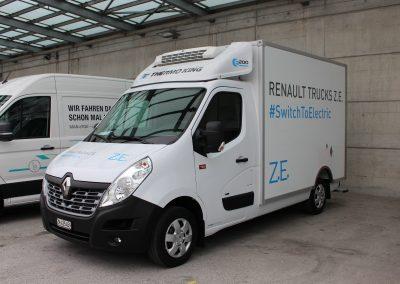 Renault Master Z.E. , Elektro-Kühlfahrzeug