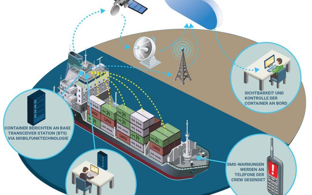Neue Monitoring-Lösungen für Controlled-Atmosphere-Container
