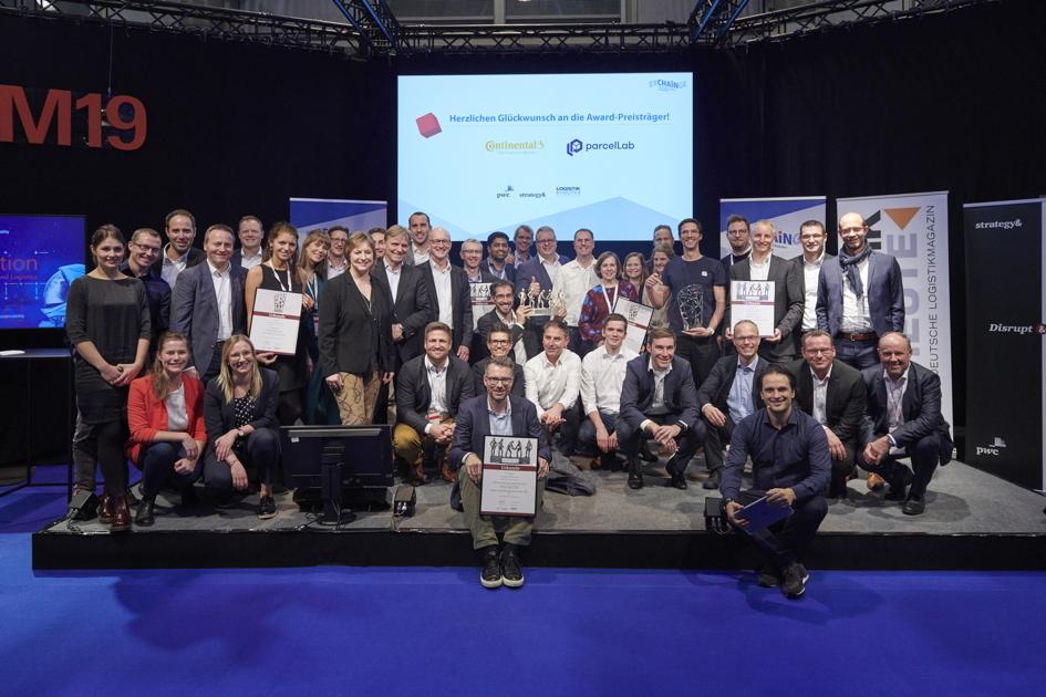 EXCHAiNGE: Continental gewinnt SCM Award – parcelLab erhält Smart Solution Award