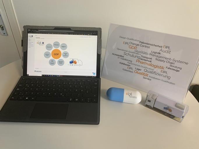 GDP@cloud: Digitaler Support von EIPL für Pharmalogistik-QM