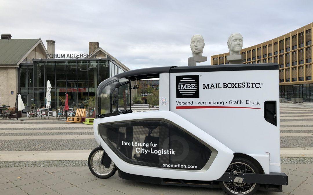 Nachhaltige urbane Logistik: Mail Boxes Etc. in Berlin fährt mit ONO