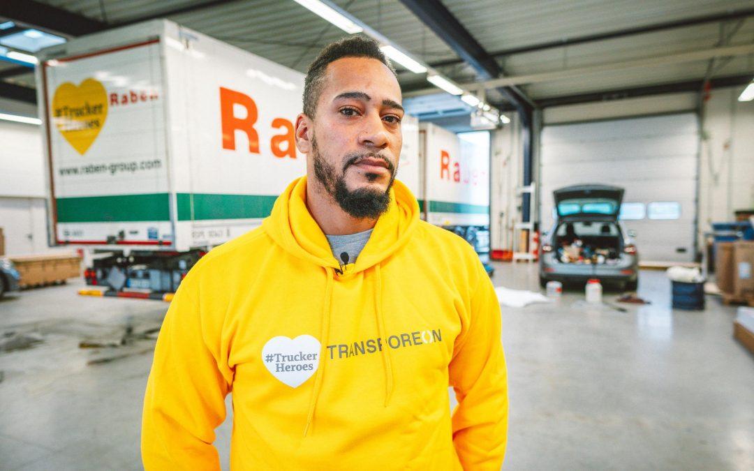 """Raben Gruppe beteiligt sich an Kampagne """"TruckerHeroes"""""""