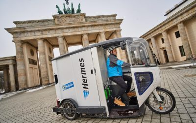 City-Logistik: Hermes setzt in Berlin auf ONO-Cargobikes