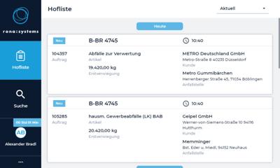 Effizient den Hof machen – rona:systems stellt den digitalen Hofschein office:hofliste4.0 vor